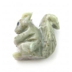 Eichhörnchen Speckstein 8 cm