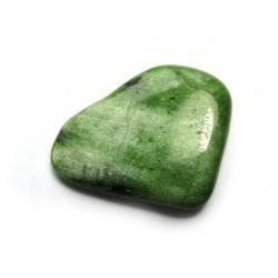Trommelstein Diopsid grün  100 g