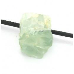 Apophyllit grün Kristallstück gebohrt 1,5-2 cm