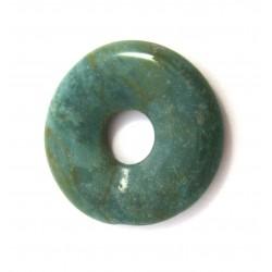 Donut Chalcedon grün 30 mm