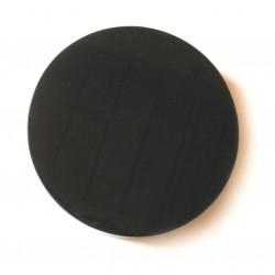 Scheibe Obsidian schwarz 11 cm