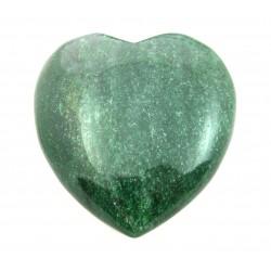 Herz Aventurinquarz grün 80 mm