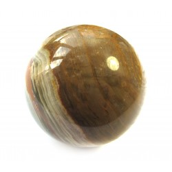 Kugel Aragonit-Calcit grün-braun 6 cm