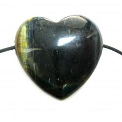 Herz gebohrt Falkenauge bauchig 35 mm