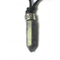 Stift-Anhänger Spitze poliert 2,8 cm Sodalith VE 6 Stück