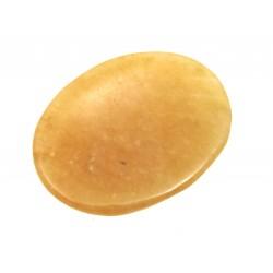 Daumenstein 4 cm klein Aventurinquarz orange