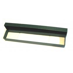 Schmuckschachtel 22 x 4 cm grün VE 24 Stück