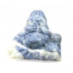 Buddha 3 cm  Mini Sodalith