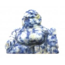 Buddha 3 cm Sodalith-Feldspat