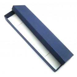 Schmuckschachtel 24x5,5 cm blau VE 12 Stück