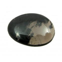 Scheibenstein Obsidian Rauch- 1 Stück