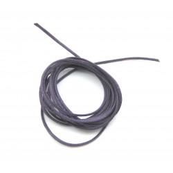 Baumwoll Bänder lila 1,9 mm VE 10 Stück