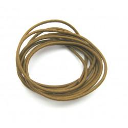 Baumwoll Bänder mittelbraun 1,9 mm VE 10 Stück