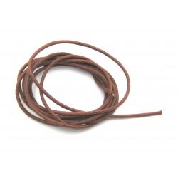 Baumwoll Bänder rotbraun 1,9 mm VE 10 Stück