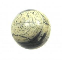 Kugel Jaspis Silberstreifen 3 cm