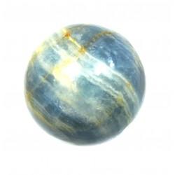 Kugel Aragonit-Calcit blau 4 cm