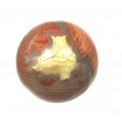 Kugel Jaspis Brekzie 4 cm