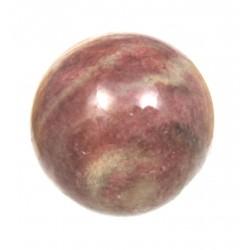 Kugel Piemontit-Quarz 4 cm