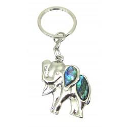 Schlüsselanhänger Elefant Pauamuschel