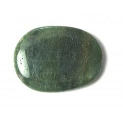 Scheibenstein Aventurinquarz grün dunkel 1 Stück