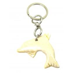 Schlüsselanhänger Delfin Mookait