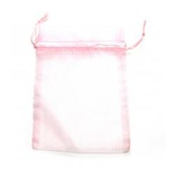Organza-Beutel 10x14 cm rosa VE 50 Stück