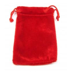 Samtbeutel 10x13,5 cm rot VE 50 Stück