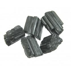 Turmalin schwarz Kristalle B 1-1,5 cm VE 250 g