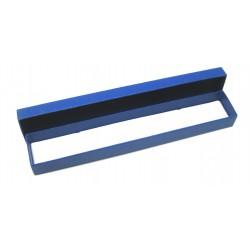 Schmuckschachtel 22 x 4 cm blau VE 24 Stück