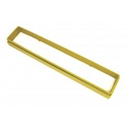Schmuckschachtel 24 x 5,5cm gelb VE 24 Stück