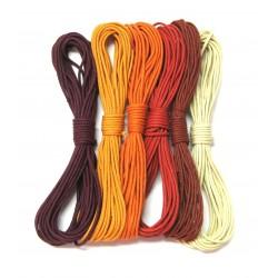 Baumwoll Bänder Mischung Morgenröte 1,5 mm VE 30 m