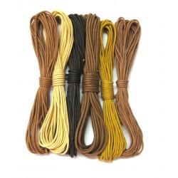 Baumwoll Bänder Mischung Savanne 2 mm VE 30 m