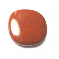 Scheibenstein Jaspis rot 1 Stück