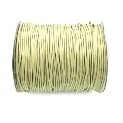 Baumwoll-Band auf Rolle hellgrün 1 mm VE 100 m