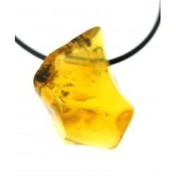 Trommelstein gebohrt Opal Feueropal