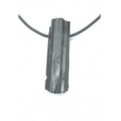 Aegerin Kristall gebohrt 3-4 cm