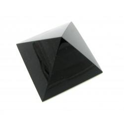 Pyramide Blaufluss (Kunstglas) 5 cm