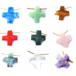 Set Kreuz gebohrt gleichschenklig 3 cm VE 25 Stück