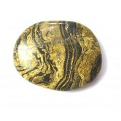 Scheibenstein Marmor Stromatolith 1 Stück