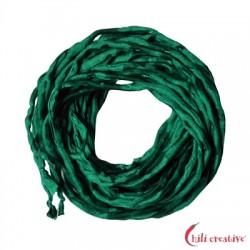 Habotai-Seidenbänder grün 100 cm VE 6 Stück
