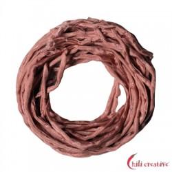 Habotai-Seidenbänder rosa (dunkel) 100 cm VE 6 Stück