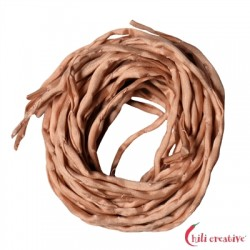 Habotai-Seidenbänder rosa (hell) 100 cm VE 6 Stück