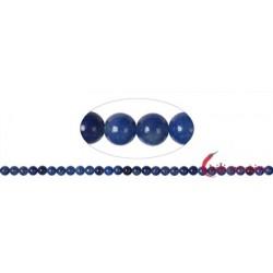Strang Kugeln Blauquarz 6 mm