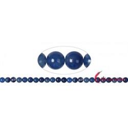 Strang Kugeln Blauquarz 8 mm