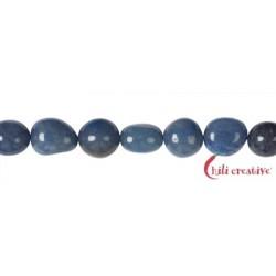 Strang Nuggets Blauquarz 8-12 x 10-12 mm