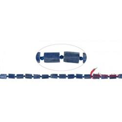 Strang Zylinder (roh) Disthen (blau) 10 x 6 mm