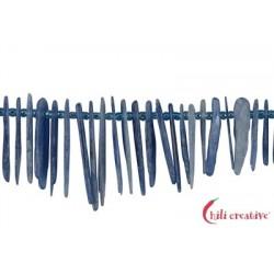 Strang Kristalle Disthen (blau) matt 15 - 40mm