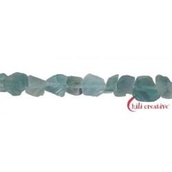 Strang Nuggets Fluorit (blau) 20 mm (37cm)