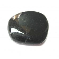 Scheibenstein Turmalin schwarz (stabilisiert) 1 Stück