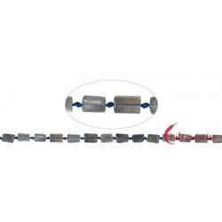 Strang Zylinder Labradorit (dunkel) 6 x 10 mm (42cm)